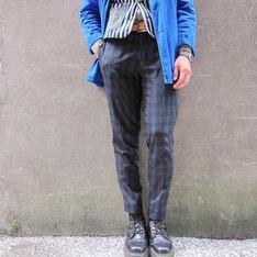 CHAINLOOP 的 格紋西裝褲