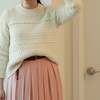MADEWELL 的 白色粗針織毛衣