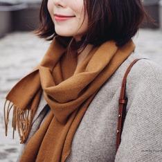 SAINT LAURENT  的 喀什米爾羊毛圍巾