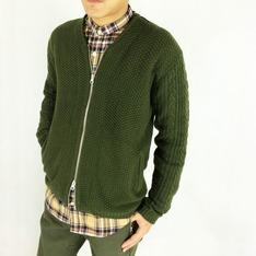 M2SQUARED 的 針織毛衣小外套