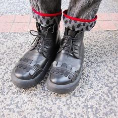 BELLY BUTTON 的 厚底鞋