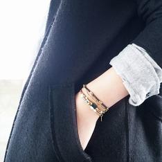 FICELLE  的 黃銅手鍊