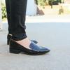ZARA 的 亮皮樂福鞋