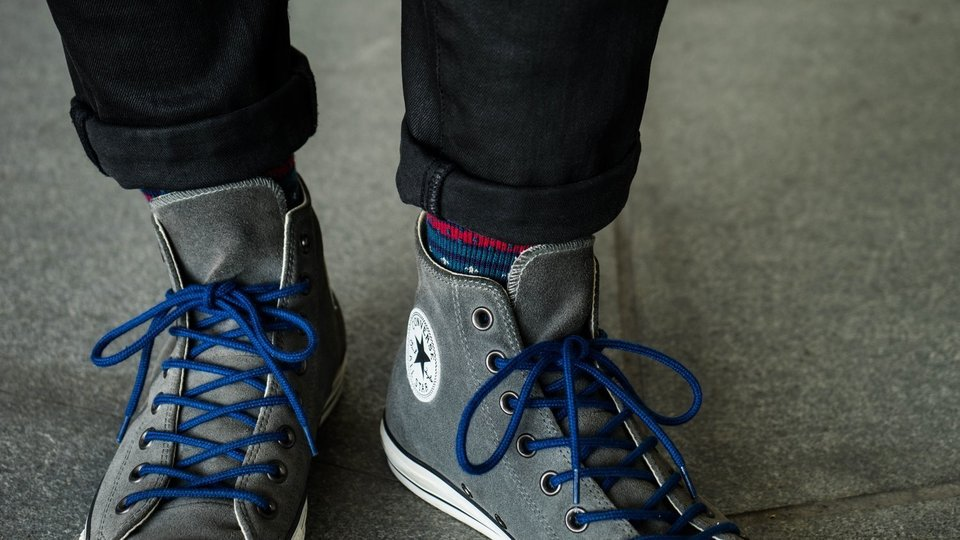 無品牌 的 格紋點點襪子