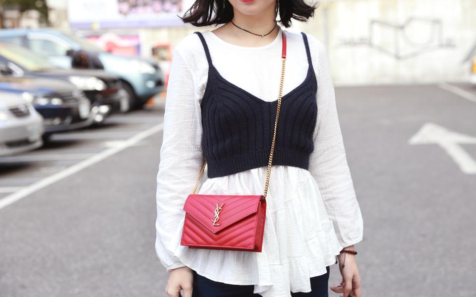 DC-DRESS CULTURE正韓時尚 的 上衣+背心SET