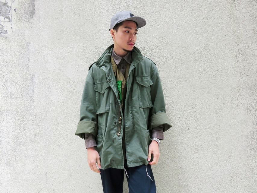 ALPHA INDUSTRIES 的 M65外套