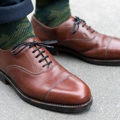 無品牌 的 手工牛津鞋