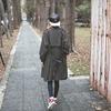 MIYUTI 的 格子風衣
