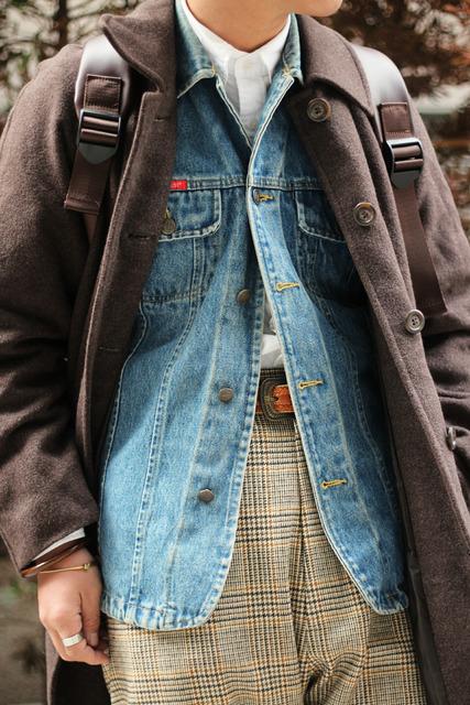 VINTAGE 的 牛仔外套