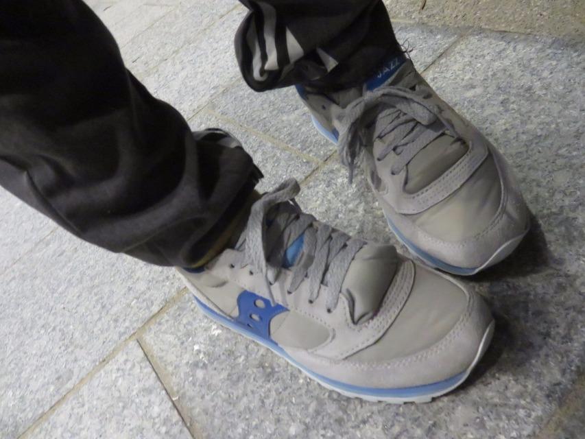 SAUCONY 的 復古球鞋