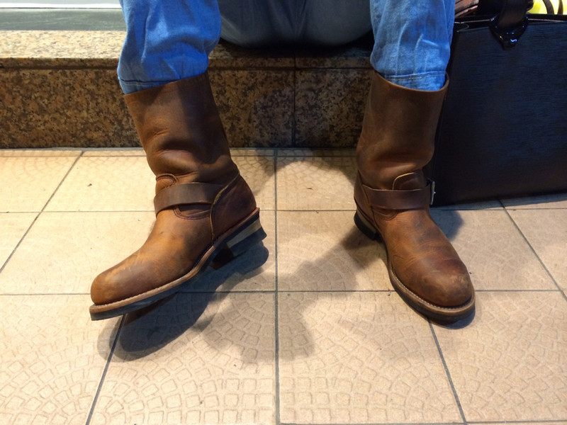 RED WING 的 工程師靴