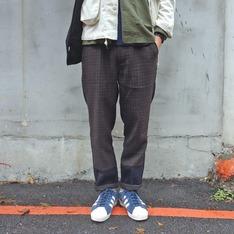 PLAIN-ME 的 格紋褲