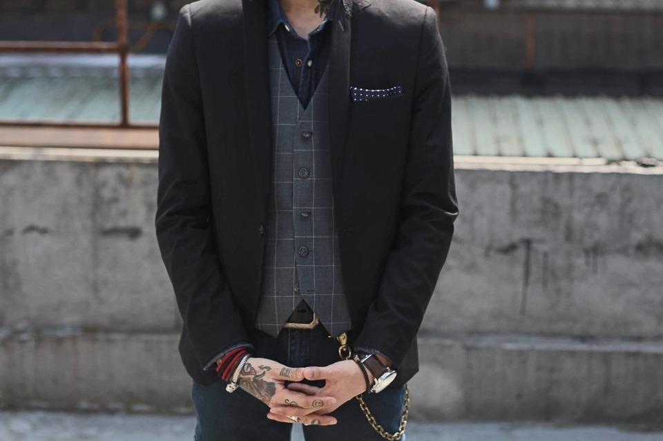 MR.RICCO 的 西裝背心