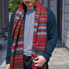 ZARA 的 毯子圍巾