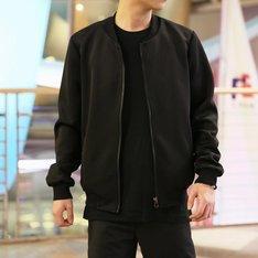 無品牌 的 黑色空氣夾克