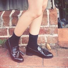 LULUS 的 流蘇樂福鞋