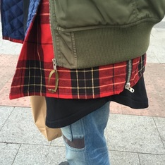FEAR OF GOD 的 FLANNEL PLAID SHACKET