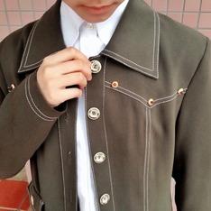 A ROOM MODEL 的 長版大衣