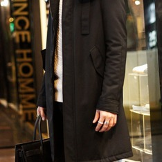 GIULIANO FUJIWARA 的 長版大衣