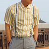 UNIQLO AND LEMAIRE 的 復古黃條紋襯衫