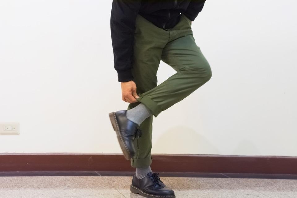 RALPH LAUREN DENIM & SUPPLY 的 軍綠長褲