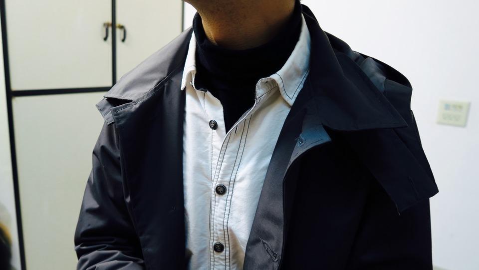 AUDIENCE 的 精梳天竺棉高領上衣