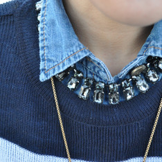 DRESS CODE 的 COLLAR NECKLACE