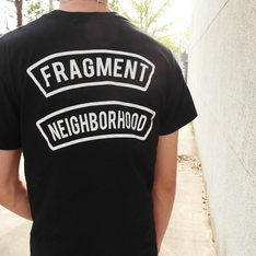 NEIGHBORHOOD X FRAGMENT 的 短袖T恤