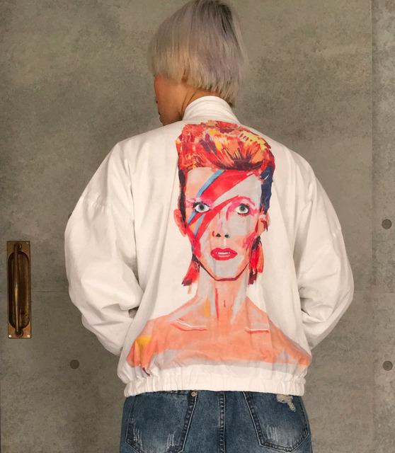 K.GERO 的 DAVID BOWIE雙面夾克
