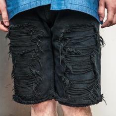SLIGHTLY NUMB 的 破壞牛仔短褲