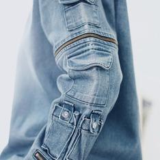 FERMENT BEANS 的 單寧多口袋機能上衣
