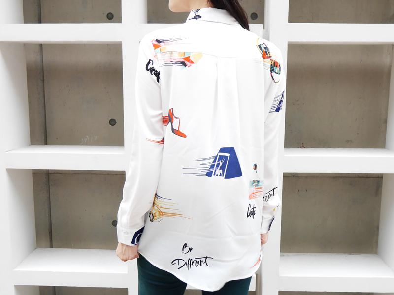 X.D. 的 印花襯衫