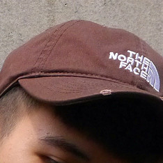 THE NORTH FACE 的 北臉老帽(咖啡)
