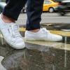 SUPERGA 的 經典休閒白鞋