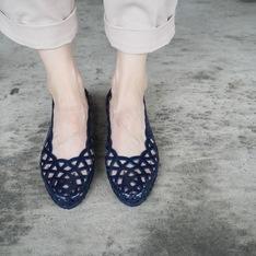 MéDUSE 的 果凍雨鞋