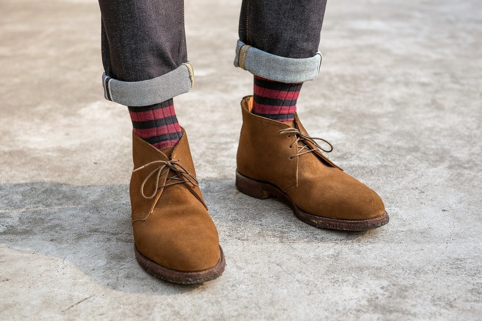 JOSEPH CHEANEY & SONS 的 沙漠靴