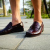 LOAKE 的 酒紅LOAFER