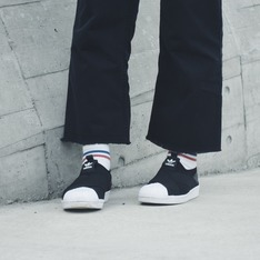 ADIDAS 的 ADIDAS ORIGINALS SUPERSTAR SLIP-ON