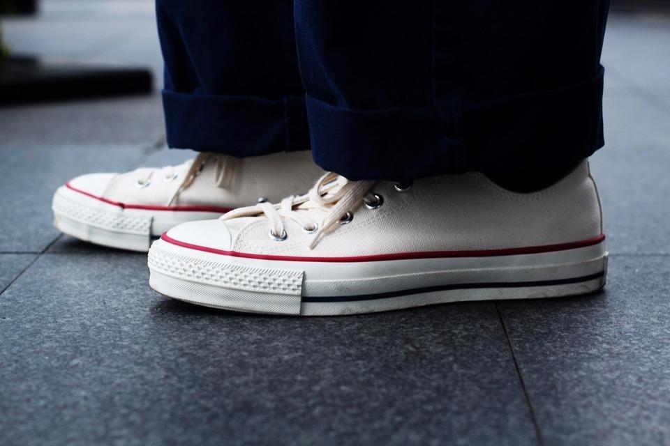 CONVERSE CHUCK TAYLOR ALLSTAR MADE IN JAPAN 的 帆布鞋