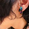 W STDUIO手創飾品 的 施華洛世奇耳環