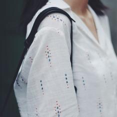 VUVU 的 睡衣領襯衫