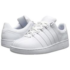K-SWISS 的 CLASSIC MEN'S LOW-CUT WHITE SHOES
