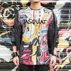ELEVEN PARIS X BASQUIAT 的 塗鴉TEE