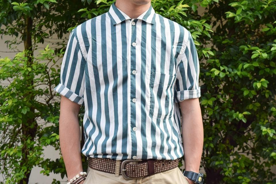 UNIQLO X LEMAIRE 的 條紋襯衫