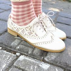 靴下屋 的 花邊短襪