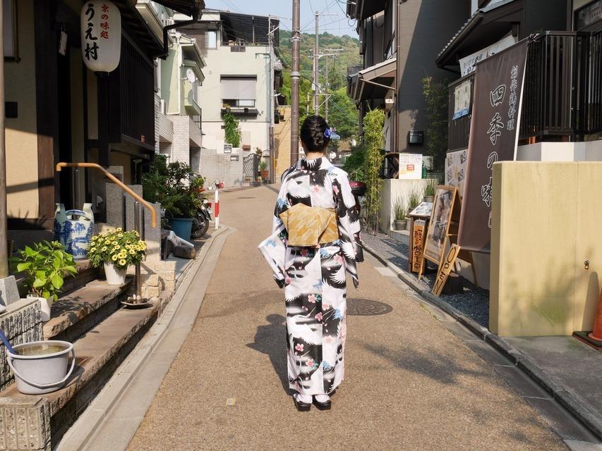 無品牌 的 日本和服罩衫