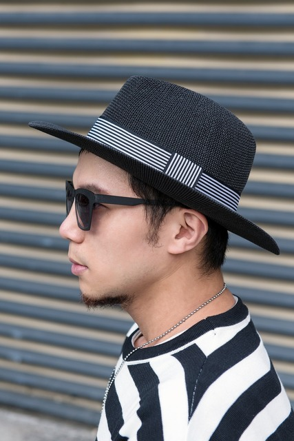 NIHOW 的 寬簷帽