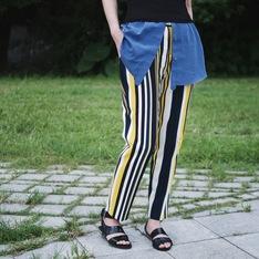 ZARA 的 條紋褲