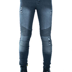 OTHER 的 DISTRESSED BIKER JEANS