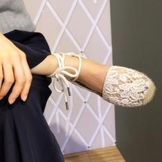 MICHAEL KORS 的 蕾絲草編鞋